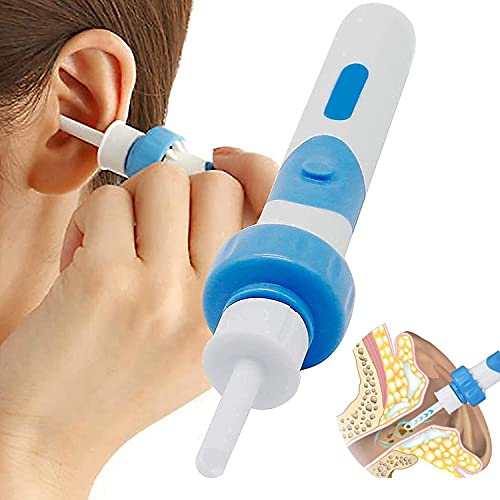 Ohrenreiniger, Ohrenschmalz entferner, Tragbarer Elektrisch Ohrenschmalz Entferner Ohrenreiniger Mit...