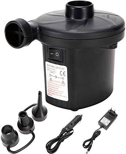 LEBEXY Elektrische Luftpumpe für Luftmatratze | Pumpe Luftmatratze | Pool Luftpumpe Elktro |...