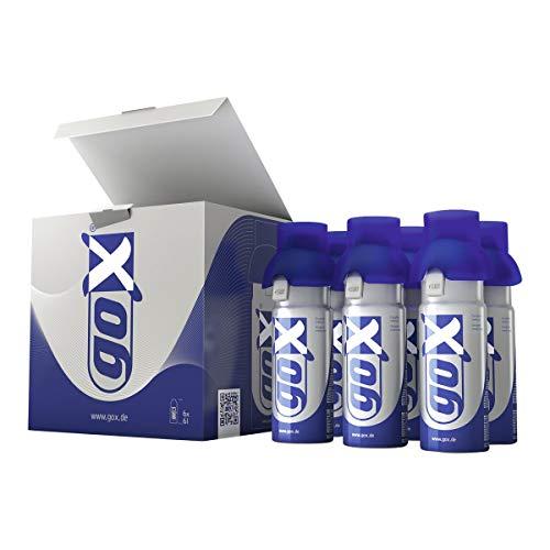 Inqua Inhalator goX Sauerstoff 6 l, 6er Pack mit Inhalationsmaske