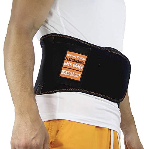 Everyday Medical Rückenbandage mit Stützstreben bei Rückenschmerzen & als Arbeitsschutz   Als...