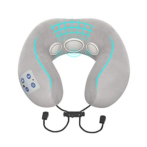 Nackenmassagegerät, BOMBOMDA Intelligentes Nackenmassagegerät mit Wärmefunktion, Elektrisches...