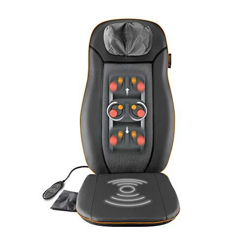 Medisana MCN Shiatsu Massageauflage, Massagesitzauflage mit 3 Massagezonen, Wärmefunktion,...