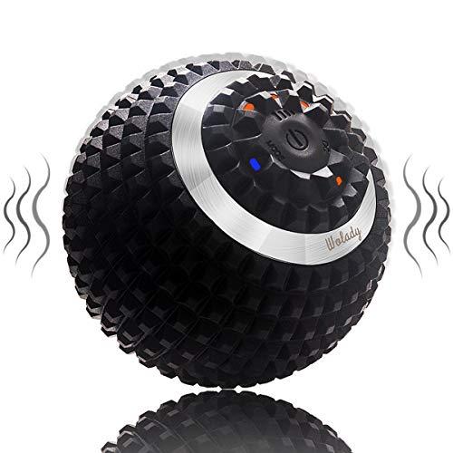 Wolady Elektrisch Massageball vibrierender Massageball Faszienball zur Selbstmassage für Muskel und...