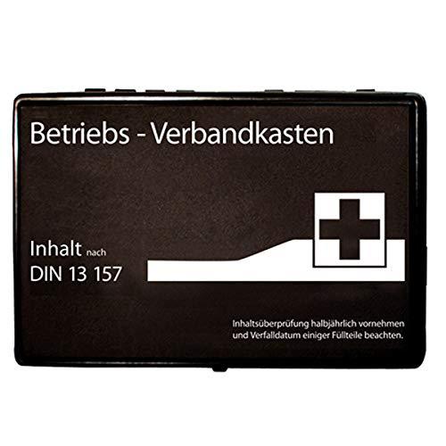 Premium-Verbandskasten-Wandhalterung, Betriebs-Verbandskasten gefüllt nach DIN 13157,...