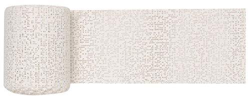 GLOREX 6 9502 00 - Keratex Gipsbinde, 10 cm x 5 m, hautfreundliches Modelliergewebe, zum Basteln und...