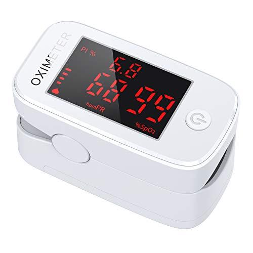JOYSKY Pulsoximeter Fingerpulsoximeter Sauerstoffsättigung Messgerät Finger zur Messung der...