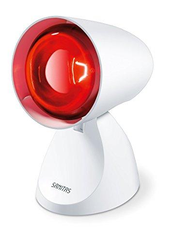 Sanitas SIL 06 Infrarotlampe, wohltuende Wärme zur Unterstützung des Heilungsprozesses