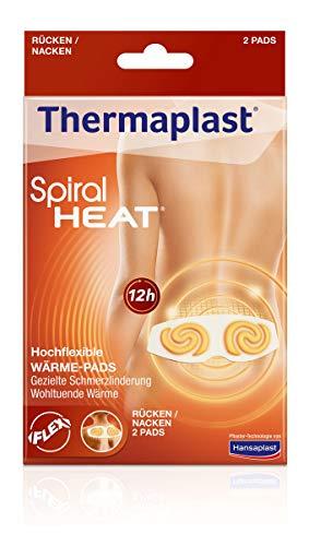 Thermaplast Spiral HEAT Wärmepflaster für Rücken und Nacken, Wärmetherapie bei verspannten und...