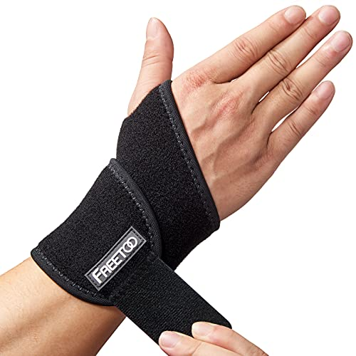 FREETOO Handgelenk Bandagen Fitness,Bandage Handgelenk Rechts und Links,Handgelenkstütze Damen und...