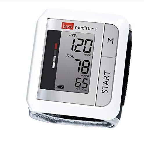 boso medistar+ – Handgelenk Blutdruckmessgerät mit Speicher für 90 Messungen, extra großem...