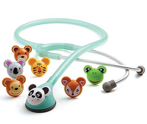 ADC Adscope 618SF Adimals - Stethoskop mit verspieltem Design für Kinder, mit einstellbarer AFD...