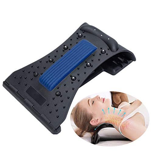 YGMXZL Rückendehner Haltungskorrektur,Nacken Schulter Relaxer Traktion Kissen,Kopf...