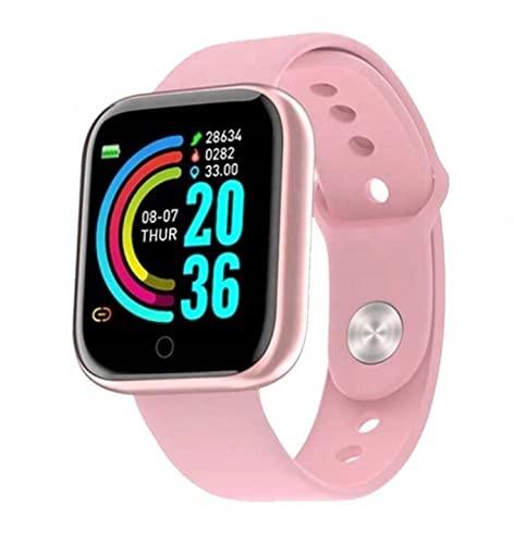 Cracksin Smartwatch, Fitness Armbanduhr Sportuhren Voller Touch Screen Wasserdicht Bluetooth, Anruf,...