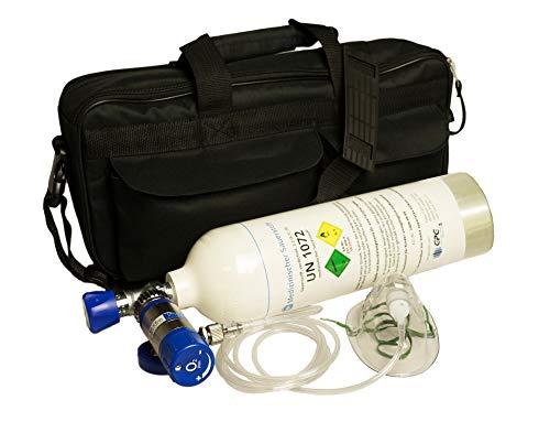 Mobiles Sauerstoff-Notfallsystem 'All inclusive' - 1,8 Liter medizinischer Sauerstoff...