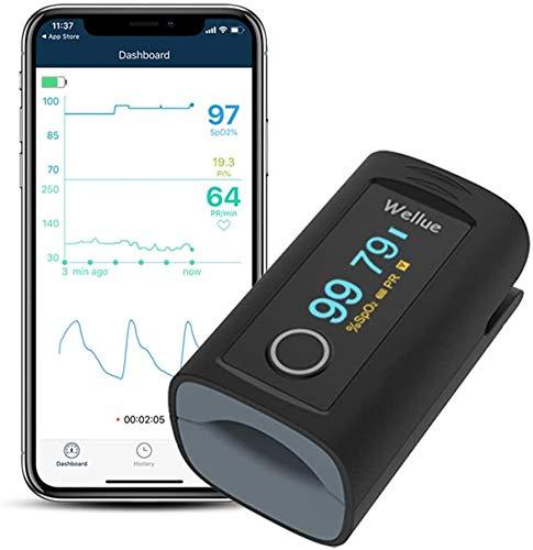 ViATOM Pulsoximeter Sauerstoffsättigung Sauerstoff-Fingermonitor für Erwachsene Sp-O2...