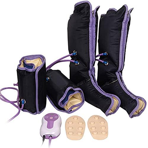 Luftkompressionsbeinmassagegerät, für Fuß- und Kälberkreislaufmassage, Kompressionsmassagegerät...