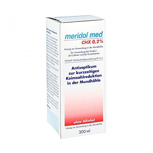 Meridol med CHX 0,2% Sp�lung, 300 ml