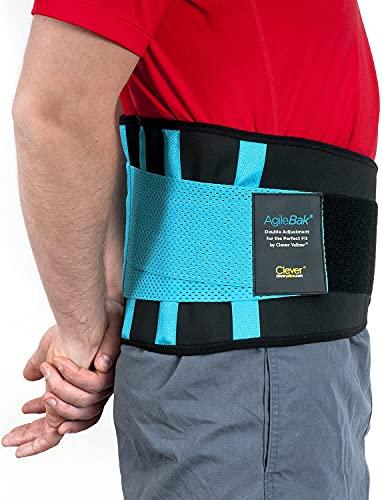 Clever Yellow Rückenstütze, Rückengurt für den Lendenbereich, Bandage für Schmerzlinderung,...