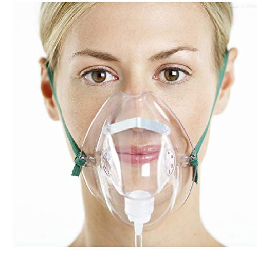 Yuwell Sauerstoffmaske mit 2 m Schlauch, 3 Stück