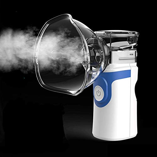 Lsooyys Tragbarer Netz-Inhalator, Netz-Ultraschall-Verdampfer Cool Mist Inhalator,...