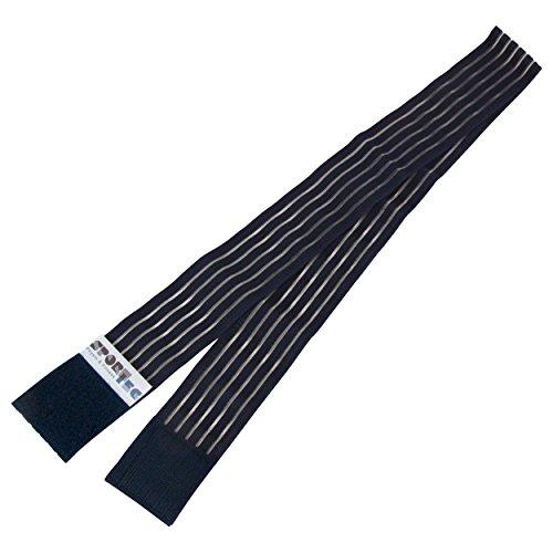 Sport-Tec Klettband für Elektrotherapiegeräte 5x100 cm, Befestigungsband, Therapie Zubehör