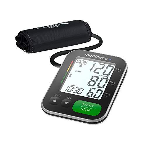 Medisana BU 570 connect Oberarmblutdruckmessgerät, Arrhythmie-Anzeige, Bluetooth,...
