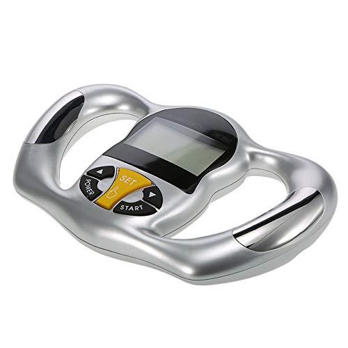 GSYYSZD Handheld-BMI-Körperfettanalysegerät Tragbarer digitaler LCD-ScreenTester zur Erkennung von...
