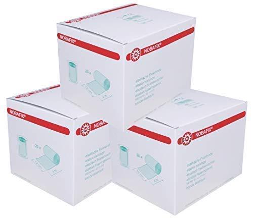 Nobafix elastische Fixierbinde 60 Stück einzeln in Folie von Noba ver. Größen (12 cm x 4 m)