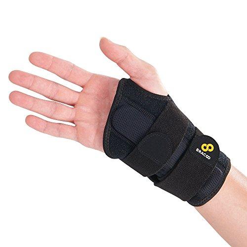 BRACOO WB30 reversible Handgelenkschiene - Ergonomische Handgelenkbandage mit herausnehmbarer...