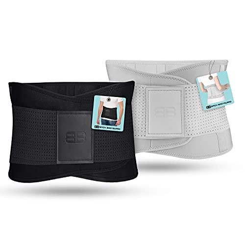BACK BODYGUARD Rückengurt - Innovative Lendenwirbelstütze - Rückenbandage lindert...