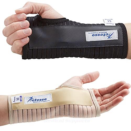 Actesso Atmungsaktive Handgelenkschiene Handschiene - Ideal für Karpaltunnelsyndrom,...