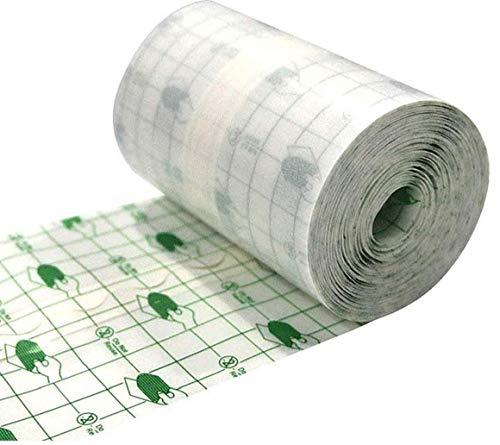 LAANCOO wasserdichte transparente Folienrolle 15cmx10m Band medizinische Wund Fixierpflaster...