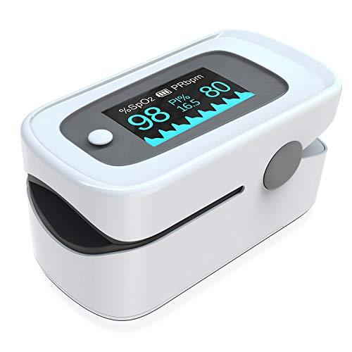 Pulsoximeter,Fingerpulsoximeter,Oximeter mit Alarm ideal zur schnellen Messung der...