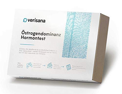 Verisana Östrogendominanz Test – Hormonspeicheltest auf Östrogene (Östradiol) & Progesteron –...