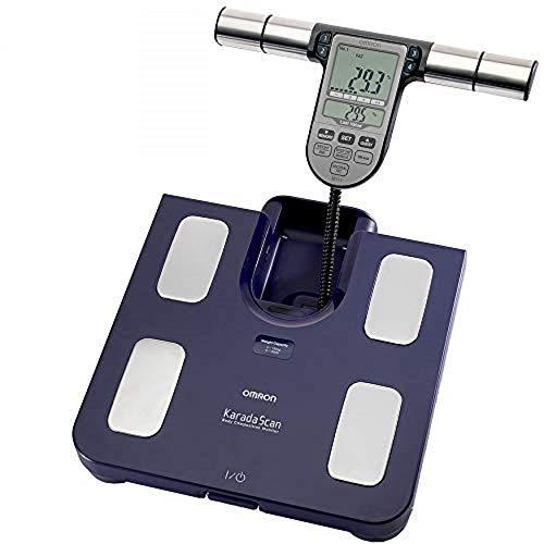 OMRON Körperanalysegerät BF511, klinisch validiert, mit 8 hochpräzisen Sensoren zur Messung an...