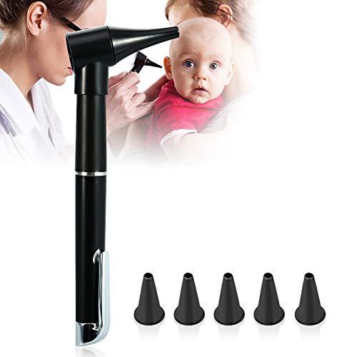 Mini Diagnose Otoskop, Tragbares Hd Endoskop, Taschenlampe Ohrenpflege Lupen Taschenlampe, Otoscope...
