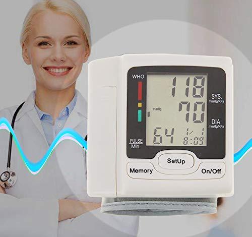 puseky Automatisches digitales Blutdruckmessgerät für das Handgelenk, BP Maschine, Heimpflege