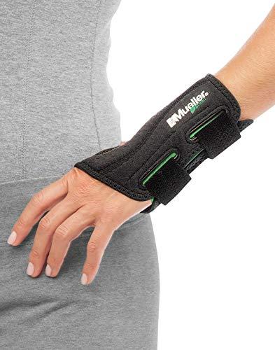 Mueller Green Line Handgelenkbandage, schwarz, links, S/M