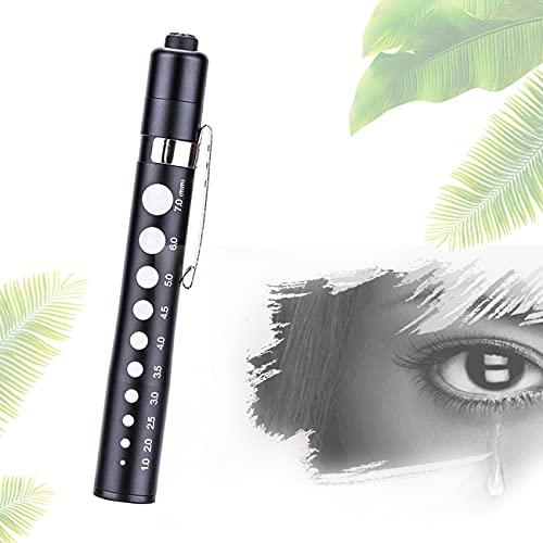 ZhiLianZhao Wiederverwendbare Pupillenleuchte Penlight, mit Pocket Clip, 5000K, RG0, Wasserdicht und...