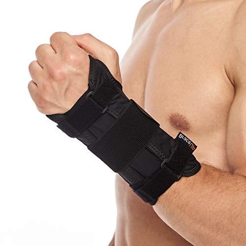 Handgelenkstütze von BraceUP mit Metall für Männer & Frauen, Handschiene für...