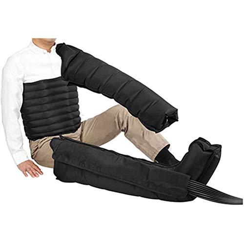 WANGXNCase Bein-Luft-Kompressionsmassagegerät zur Durchblutung, Pressotherapie-Massagegerät,...