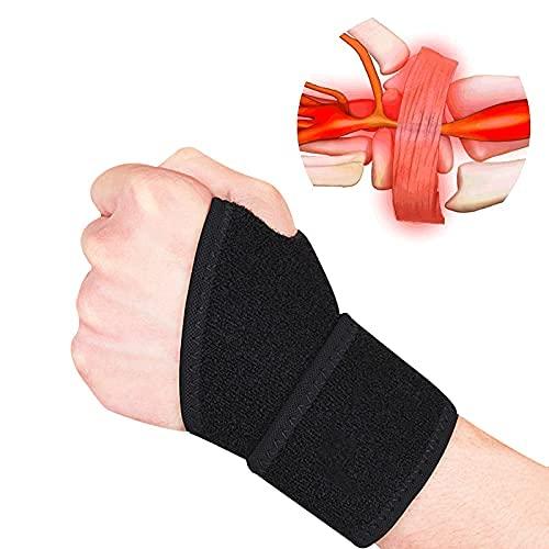2er-Pack Handgelenk-kompressionsriemen und handgelenkbandage Sport-handgelenkbandage für Fitness,...