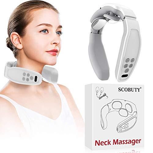 Nackenmassagegerät,Shiatsu-Nackenmassagegerät,Elektrisches Puls-Nackenmassagegerät, Elektrisches...