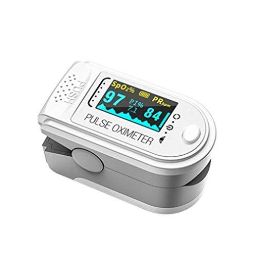 Blutsauerstoffsättigungsmonitor Fingerpulssauerstoff-Herzfrequenzmesser Tragbares...