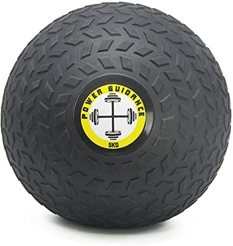 POWER GUIDANCE - Slam Ball Gummi Medizinball Fitnessball Trainingsball mit griffiger, strukturierter...