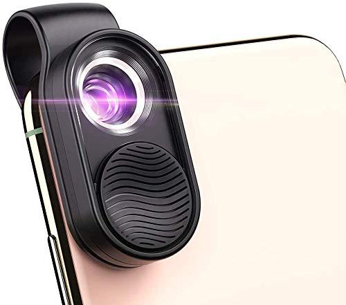 Digitales Mikroskop-Mikroobjektiv, 100-faches Mikroskop-Vergrößerungs-LED-Licht mit Universalclip...