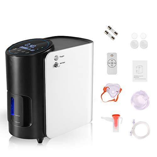 Tragbarer Sauerstoffkonzentrator 1-7 l/min Einstellbarer, hochreiner Sauerstoffmaschinenfluss...