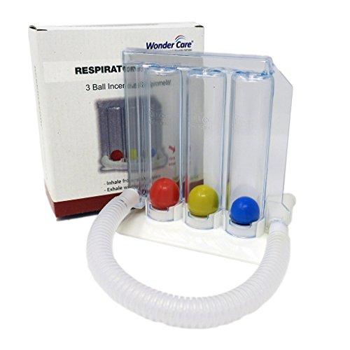 WonderCare- Lungentrainer Atemtrainer Tri-ball - waschbar