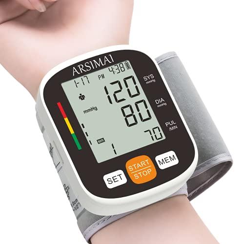 Automatischer Handgelenk Blutdruckmessgerät: Messgerät zur Überwachung des...