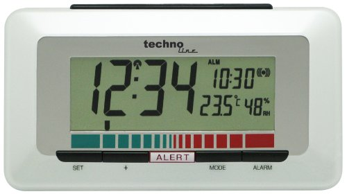 Technoline Luftgütemonitor WL 1000 mit Innentemperaturanzeige und Luftgütesensor zur Überwachung...